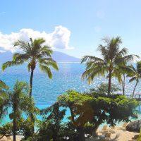 Ruim je blokkades op en leef het leven waar je voor geboren bent. Bijvoorbeeld op dit mooie strand met palmbomen.